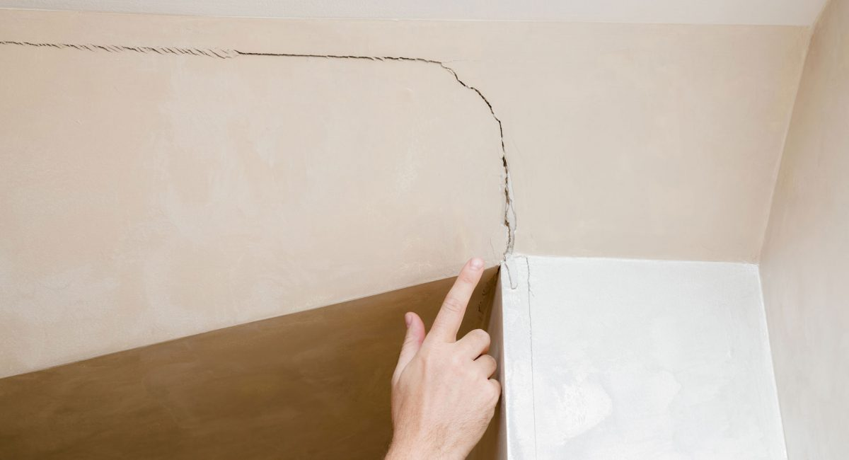 What do you do when you discover the cracks in the walls are sinking your new home dreams